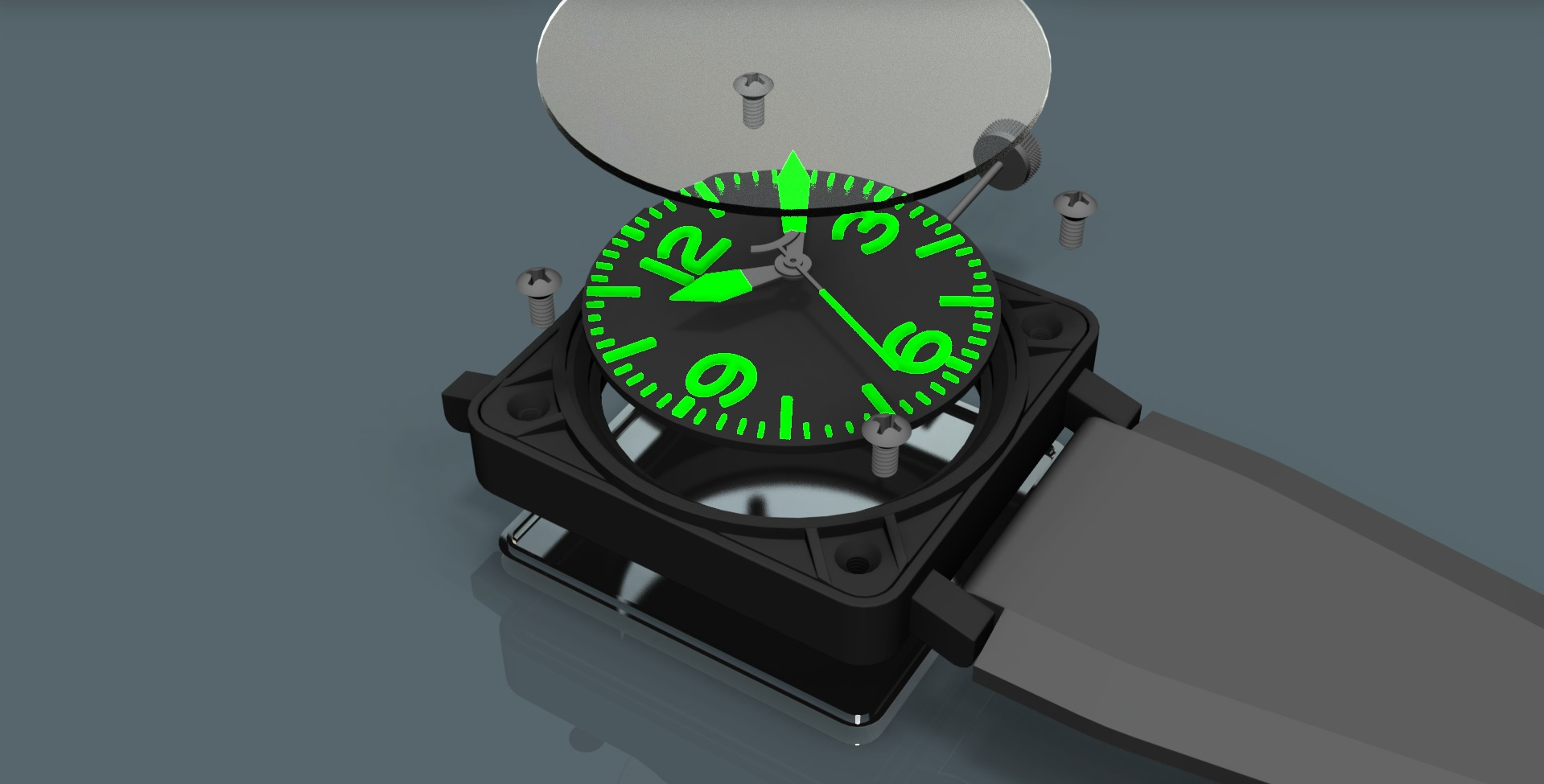 Replica_watch_assembly