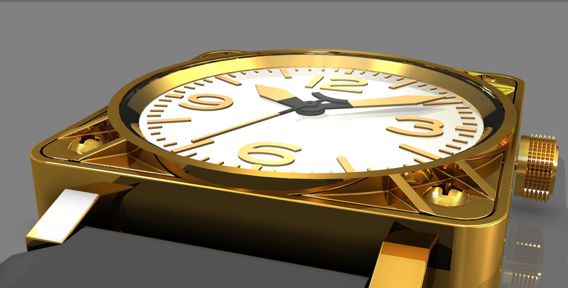 Replica_watch_assembled_angle2_brass