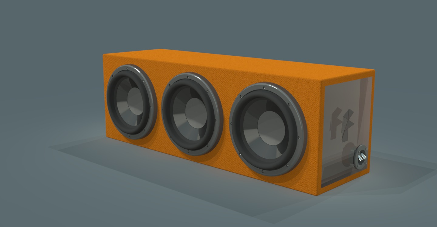 Triple_subwoofer_box