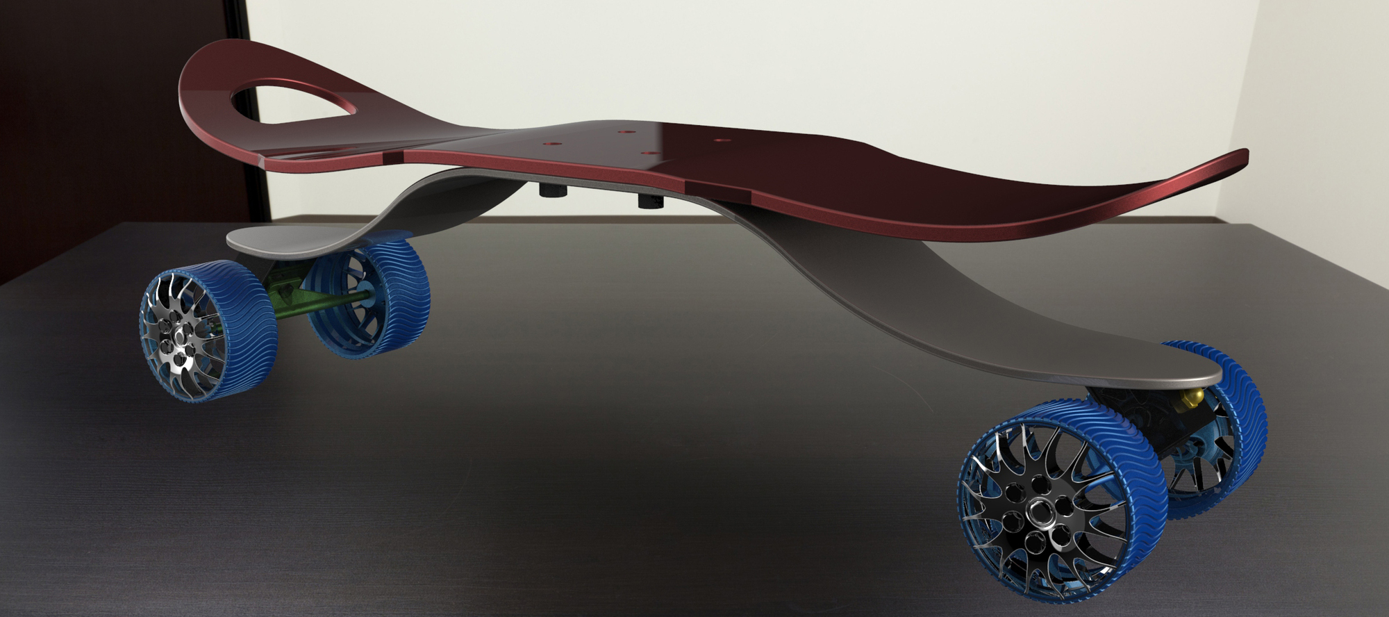 Skateboard assly autodesk online gallery - Invention du skateboard ...
