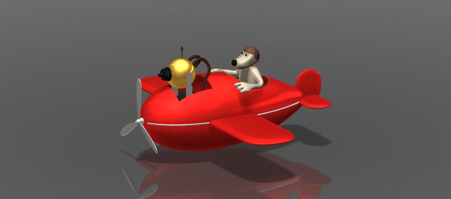 Gromit_plane