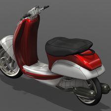 scooter 3d autodesk fusion 360