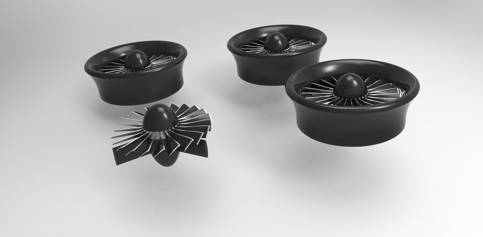 ducted fans for vtol uas quadcopter autodesk online gallery. Black Bedroom Furniture Sets. Home Design Ideas