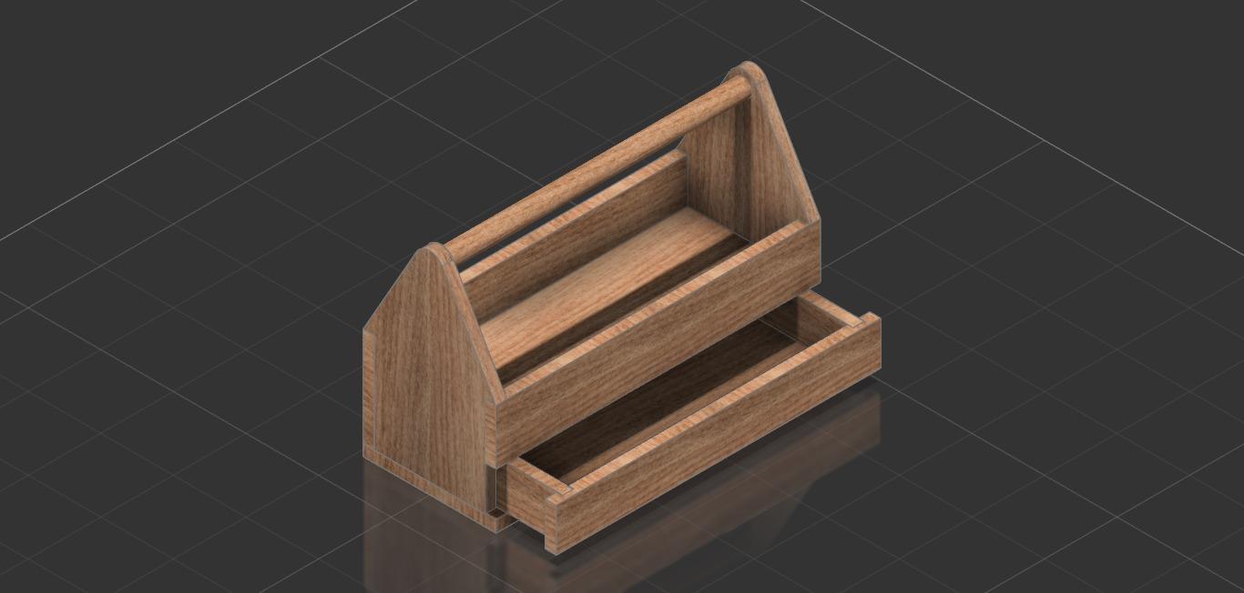 Caja de herramientas de madera wooden toolbox video - Herramientas de madera ...