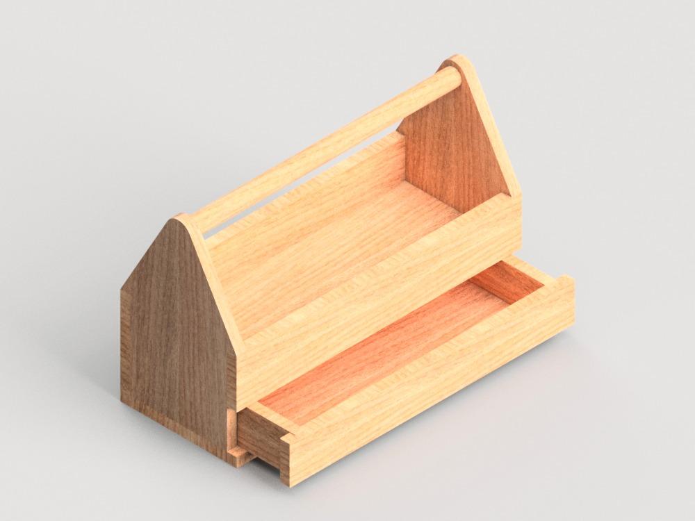 Caja de herramientas de madera wooden toolbox video - Cajas de erramientas ...