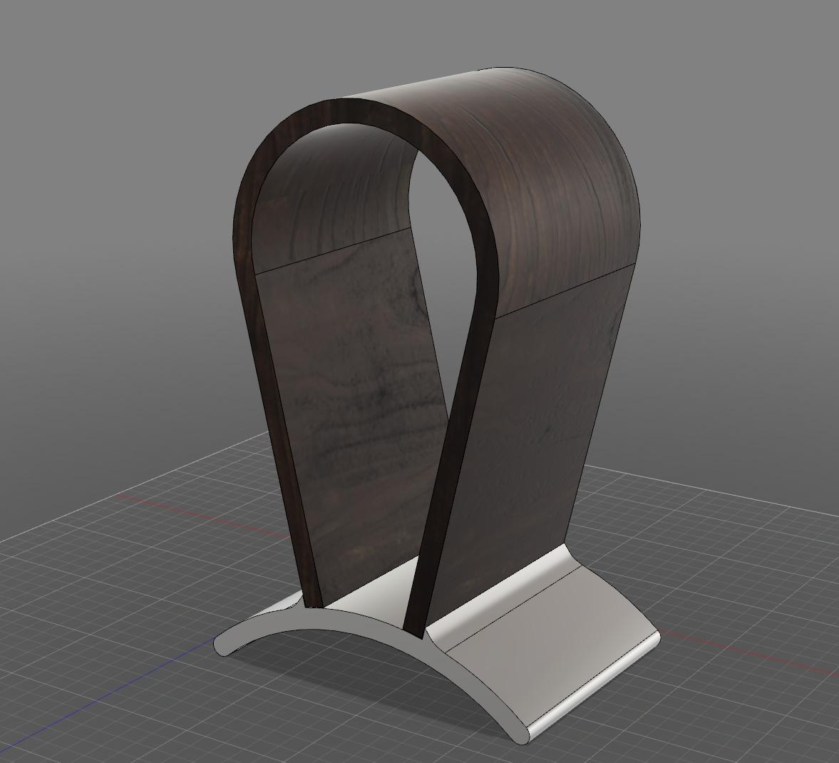Headphone Stand Designs : Headphone stand autodesk online gallery