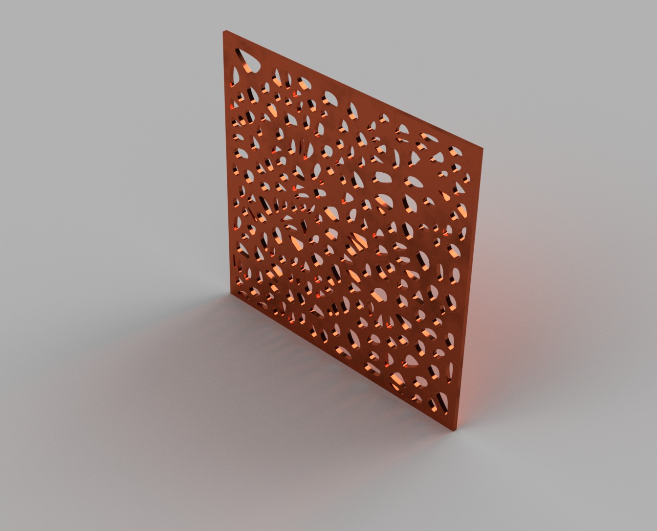 Voronoi-128-cells-copper