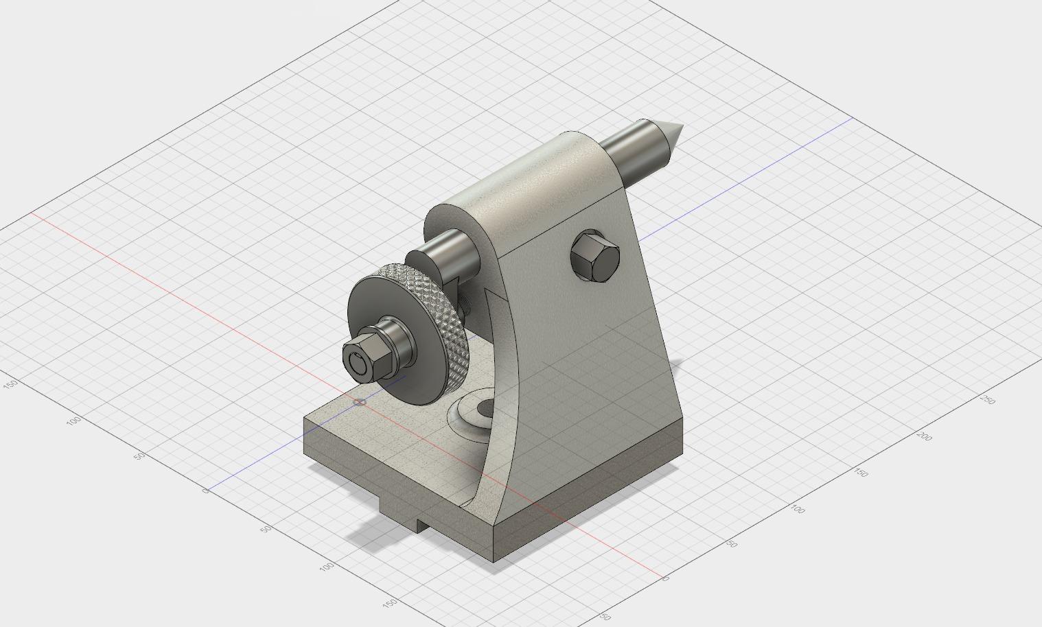 milling machine tailstock