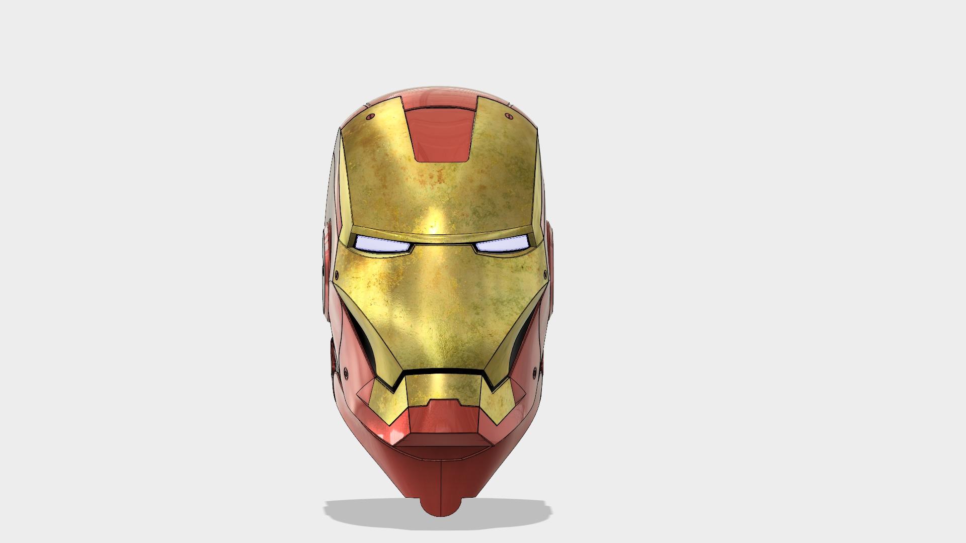iron man helmet  autodesk online gallery