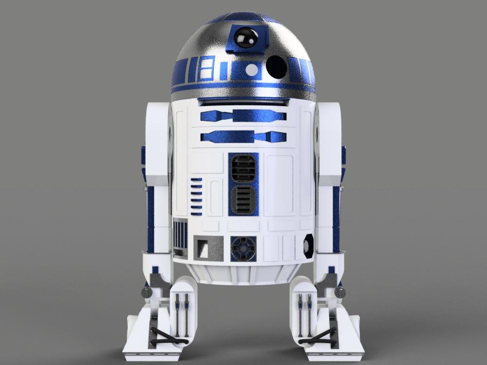 R2d2 360 View R2D2|Autodesk O...