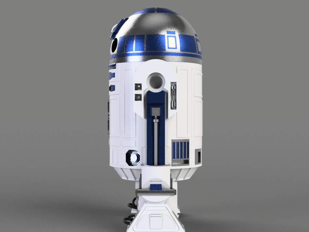 R2d2 360 View Side
