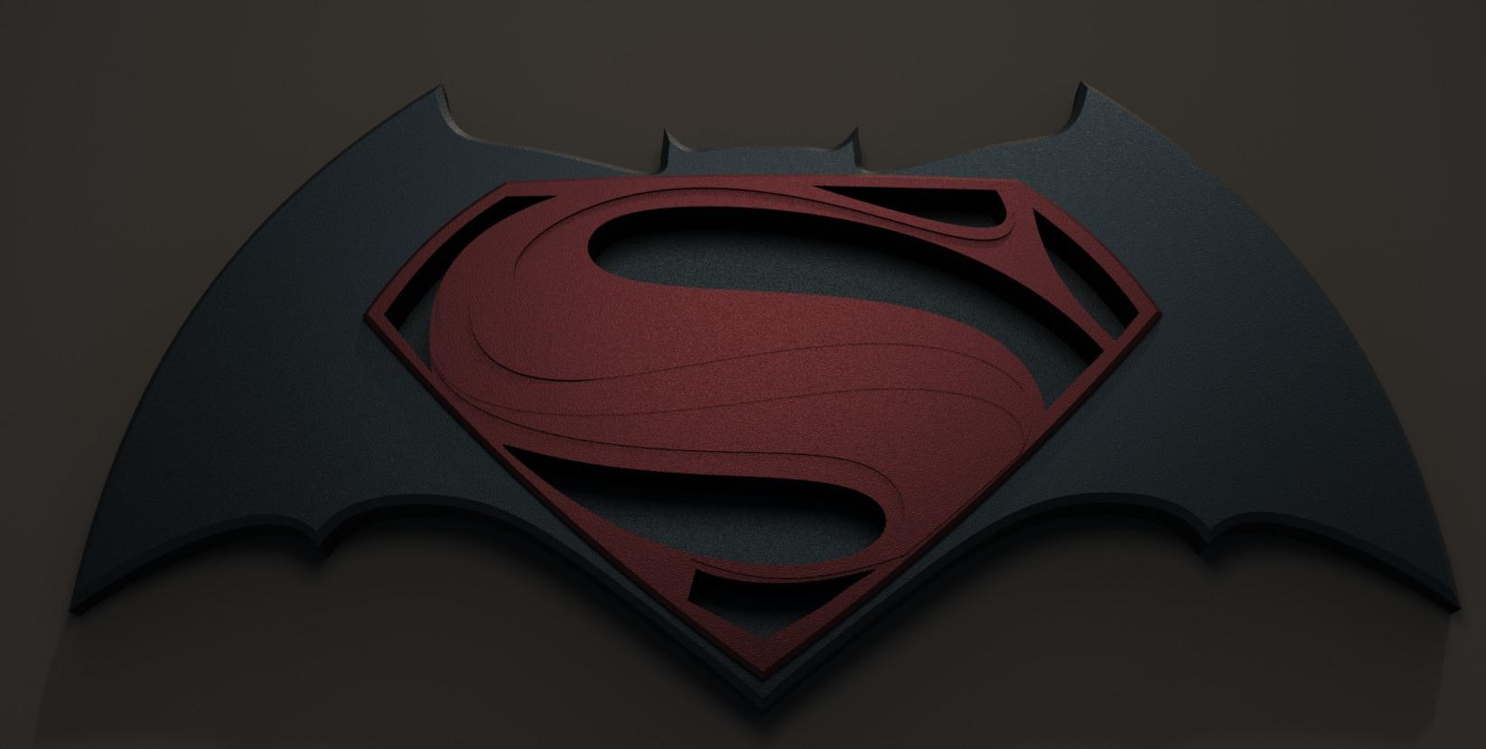 Batman Vs Superman Logo X Bat V Sup