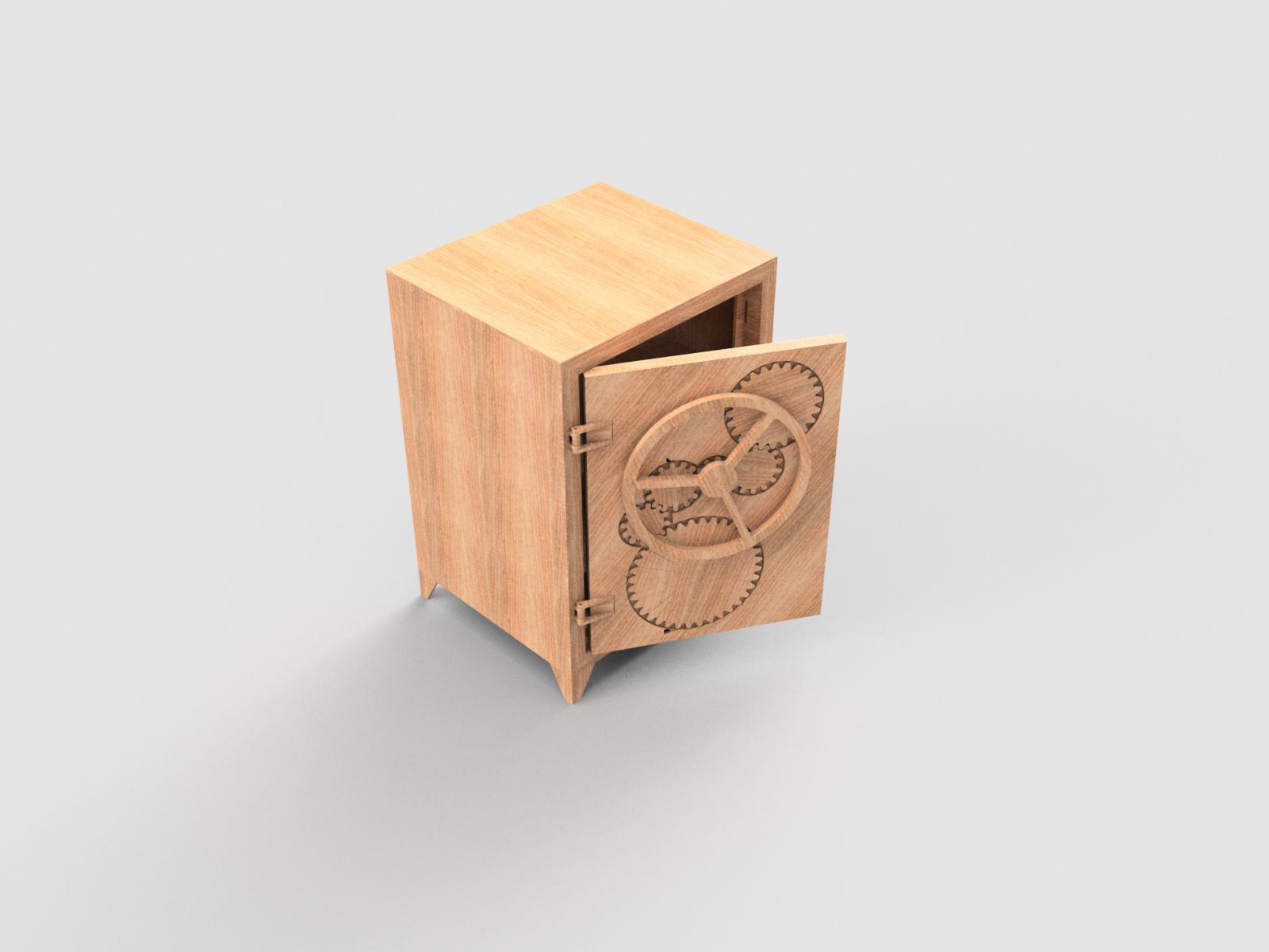 Caja fuerte de madera autodesk online gallery - Pegamento fuerte para madera ...