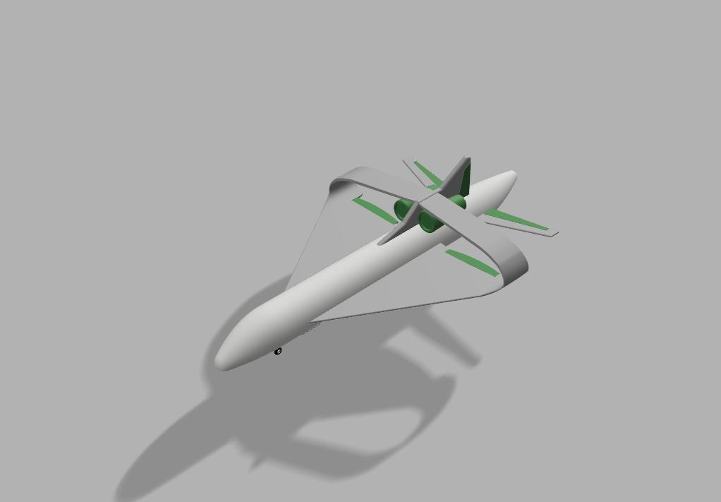 Delta Closed Wing Airplane Autodesk Online Gallery