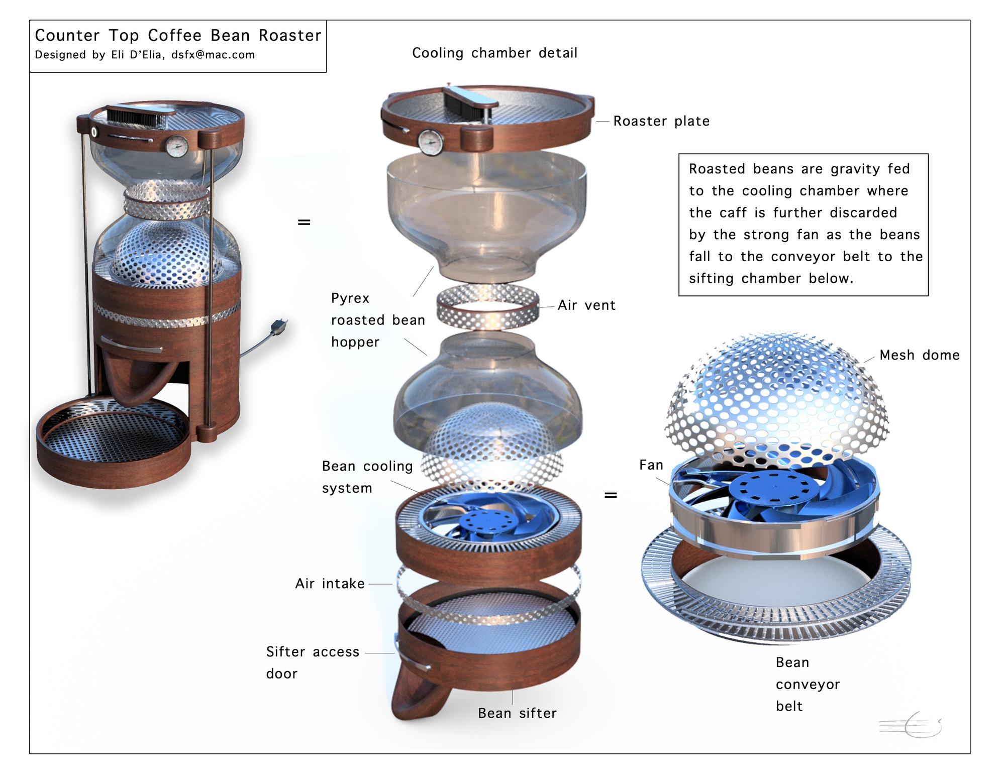 Coffeeroastercoolingchamber