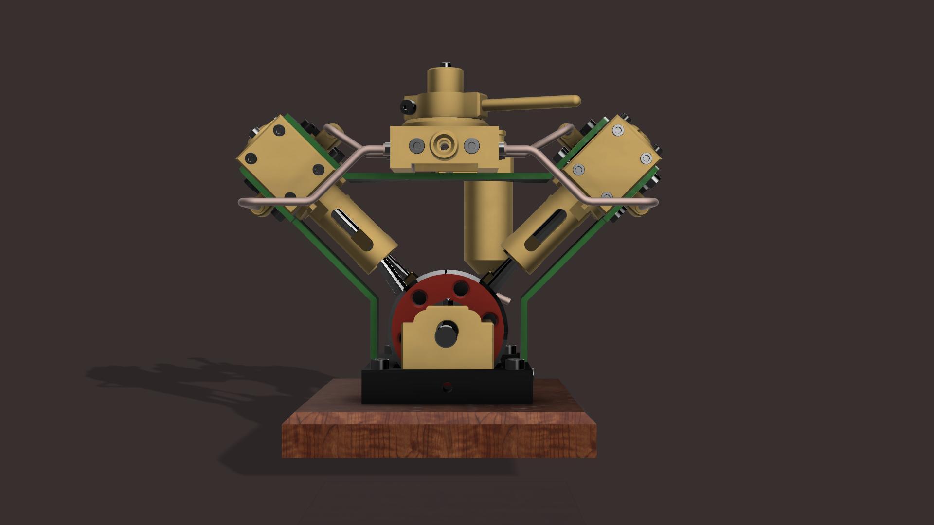 twin piston engine autodesk online gallery. Black Bedroom Furniture Sets. Home Design Ideas