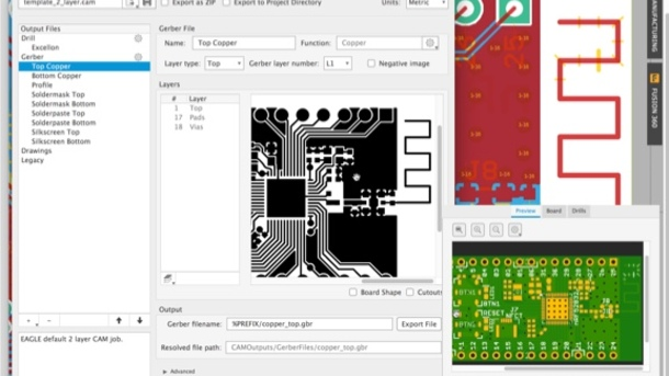Exporting PCB Manufacturing Files