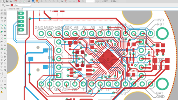 Getting Started with EAGLE Part 2: PCB Layout