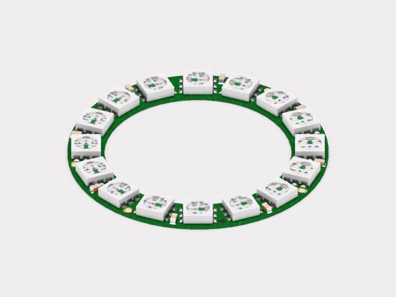 NeoPixel Ring 16|Autodesk Online Gallery