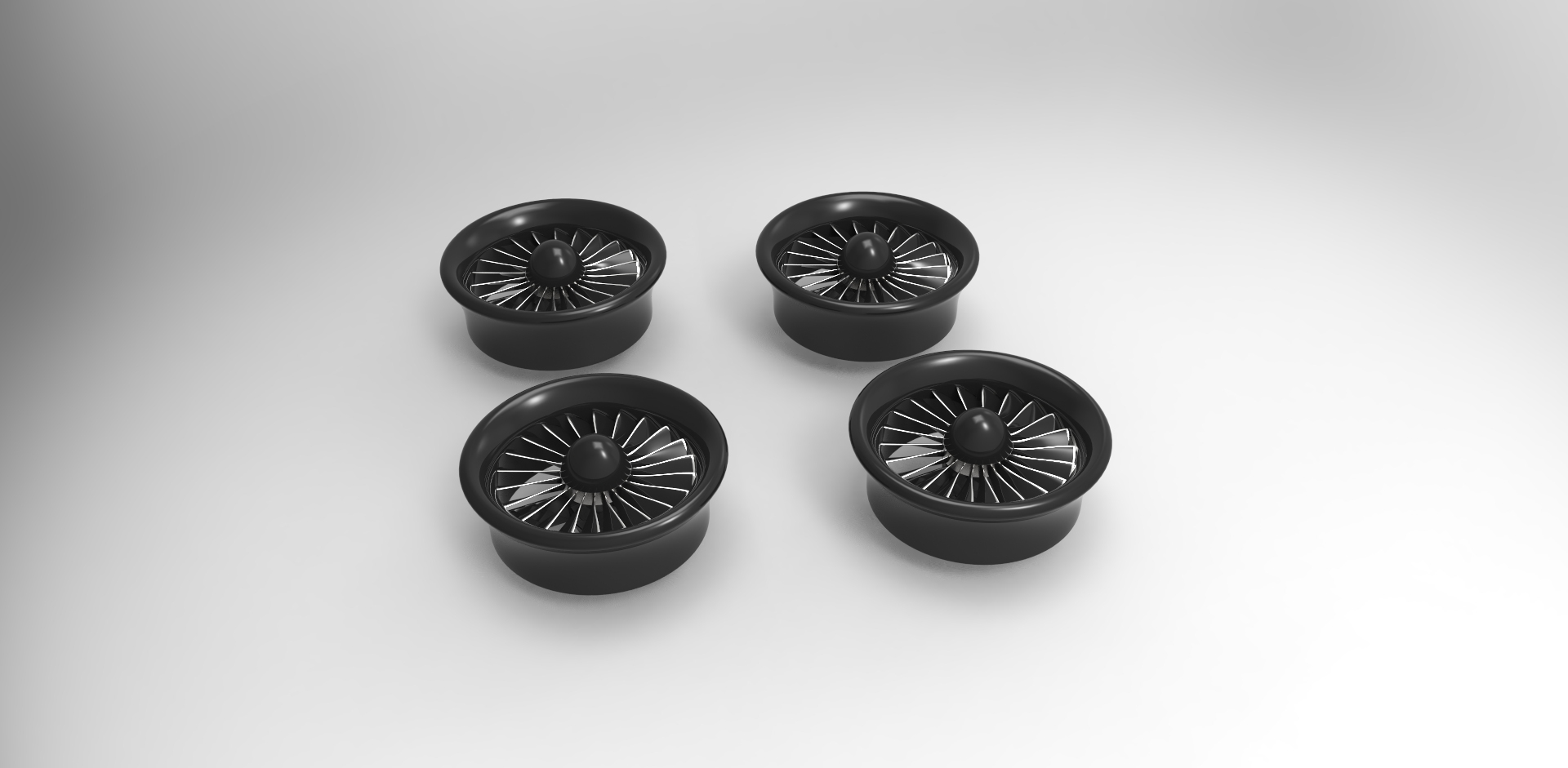 Ducted Fans for VTOL UAS quadcopter Autodesk Online Gallery