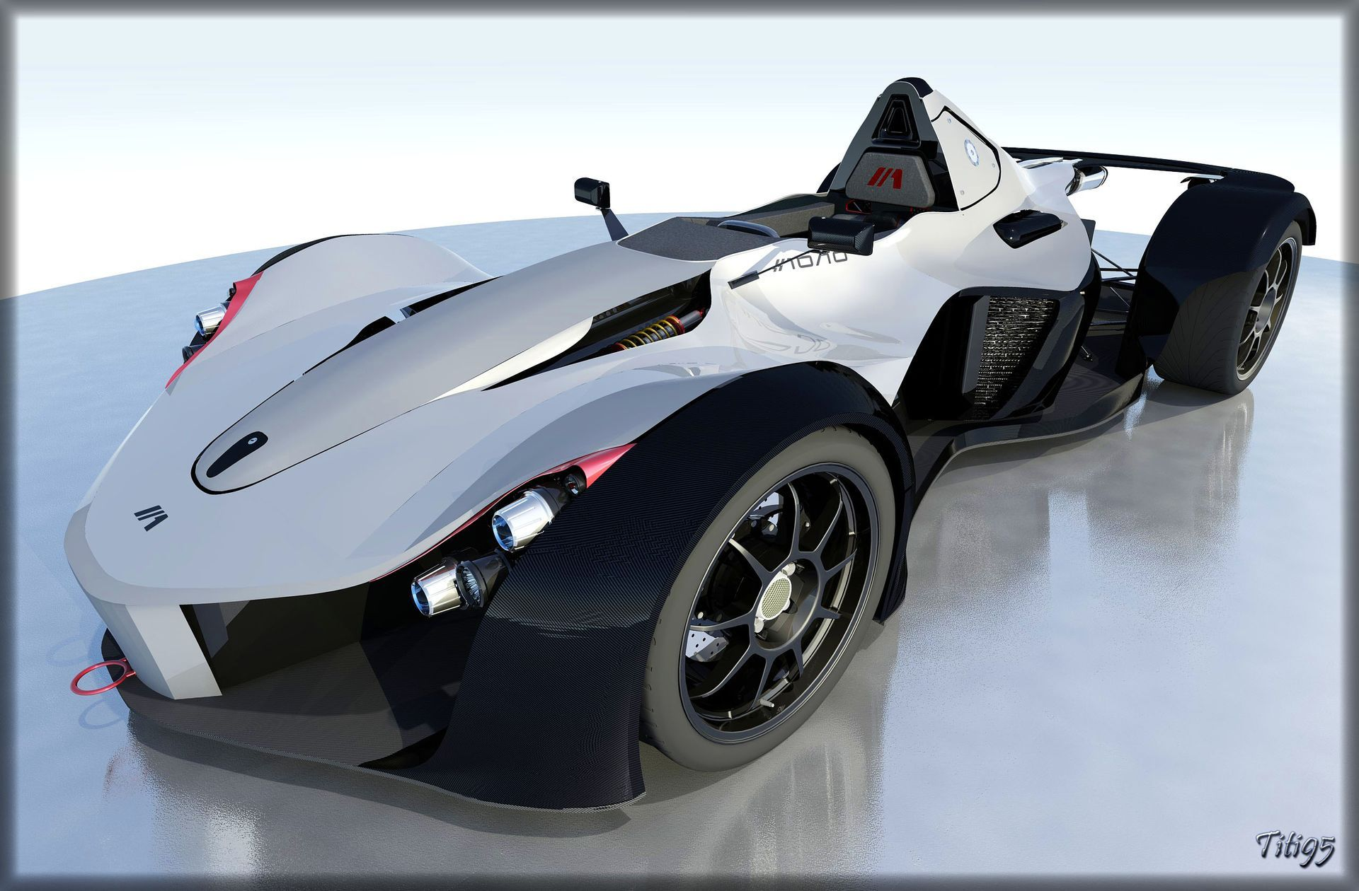Sports car with details bac mono autodesk online gallery - Sports car pictures download ...