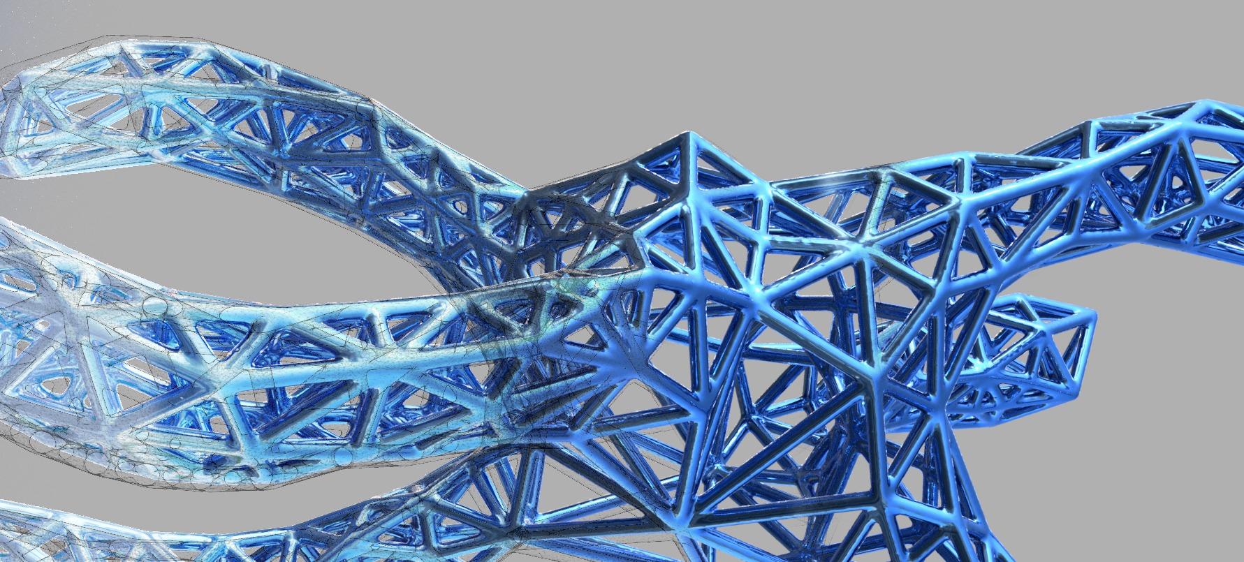 Lattice Structure|Autodesk Online Gallery