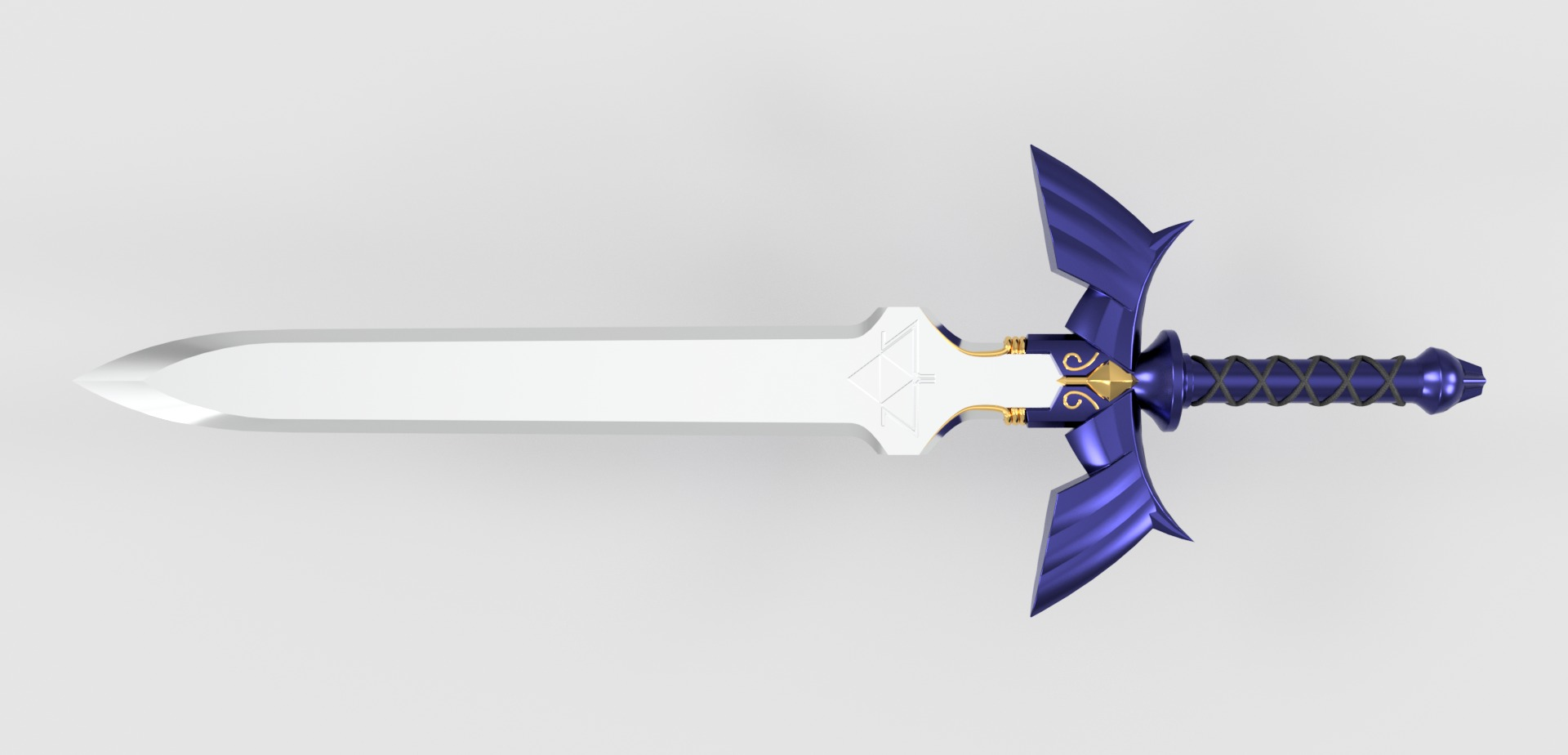 3d Design Online The Master Sword Autodesk Online Gallery