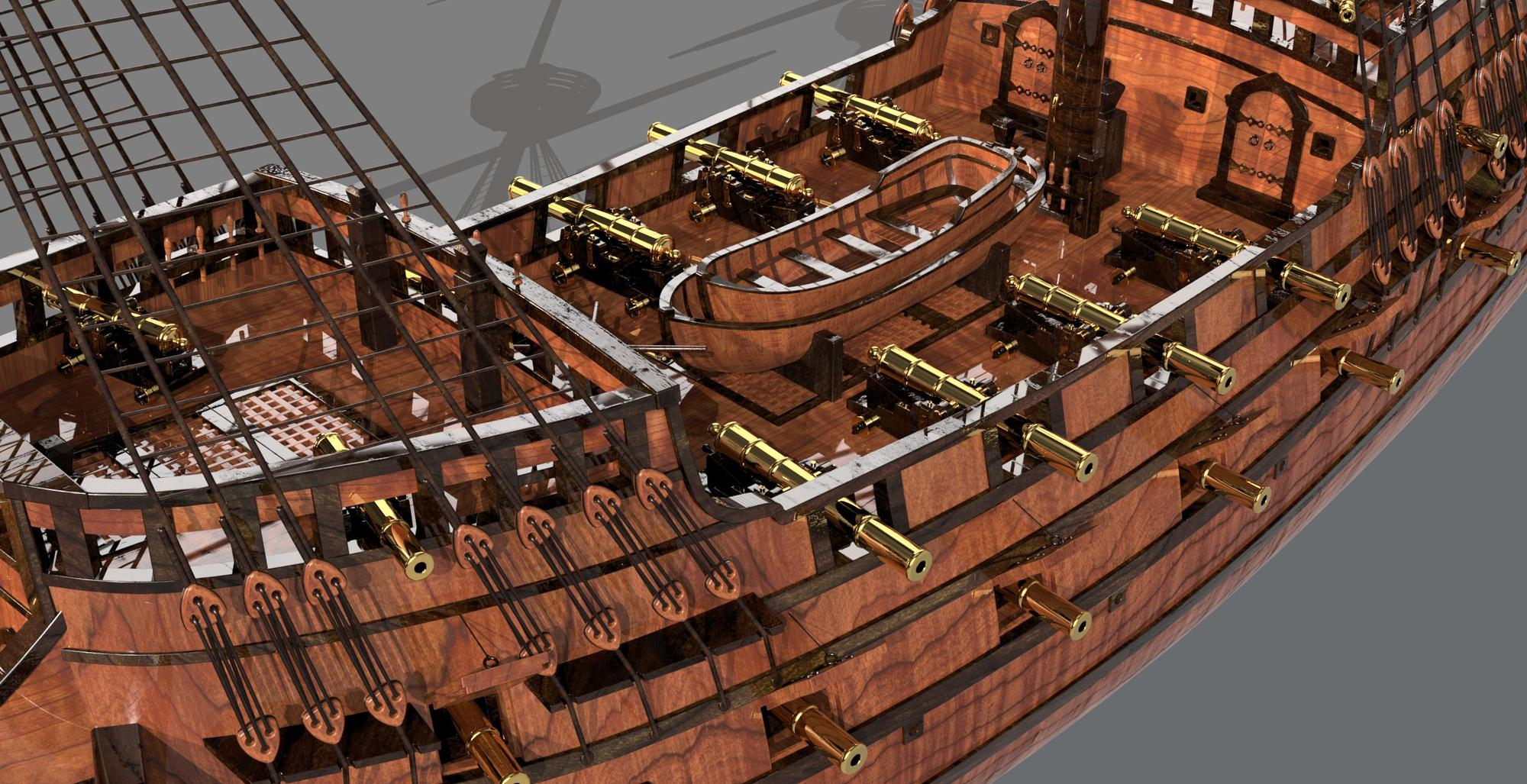 Galleon 'Revenge' 1577