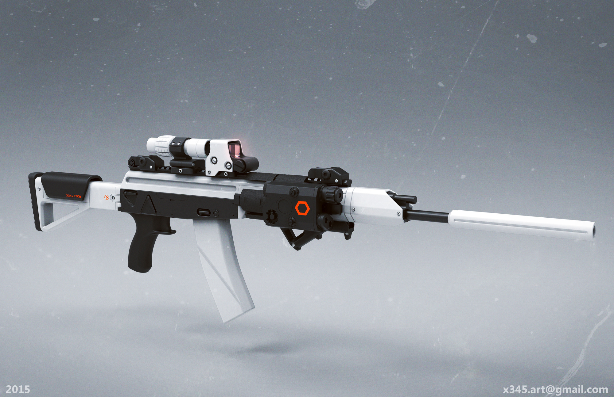 Weapon Design Autodesk Online Gallery